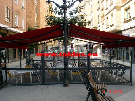 Toldos de Brazo Invisible Monoblock en Bilbao